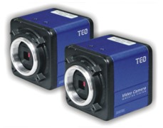 Hi-resolution colour industrial cameras